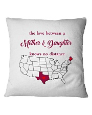 TEXAS MAINE THE LOVE MOTHER AND DAUGHTER Square Pillowcase thumbnail