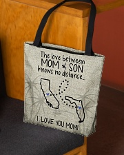 CALIFORNIA FLORIDA THE LOVE MOM AND SON All-over Tote aos-all-over-tote-lifestyle-front-02