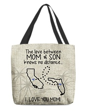 CALIFORNIA FLORIDA THE LOVE MOM AND SON All-over Tote back