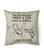 "CALIFORNIA FLORIDA THE LOVE MOM AND SON Indoor Pillow - 16"" x 16"" thumbnail"