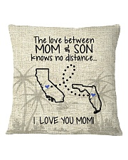CALIFORNIA FLORIDA THE LOVE MOM AND SON Square Pillowcase thumbnail
