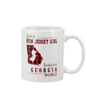 JUST A NEW JERSEY GIRL IN A GEORGIA WORLD Mug thumbnail