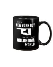 JUST A NEW YORK GUY IN AN OKLAHOMA WORLD Mug thumbnail
