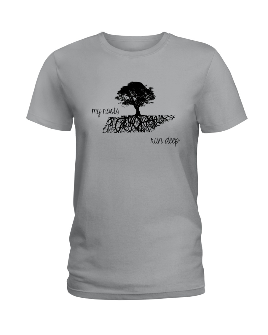TENNESSEE MY ROOTS RUN DEEP Ladies T-Shirt