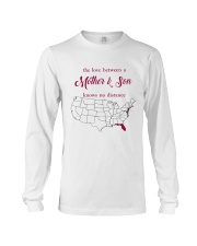 NEW JERSEY FLORIDA THE LOVE MOTHER AND SON Long Sleeve Tee thumbnail
