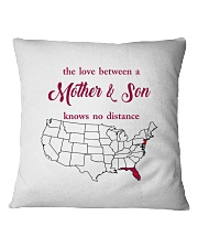 NEW JERSEY FLORIDA THE LOVE MOTHER AND SON Square Pillowcase thumbnail