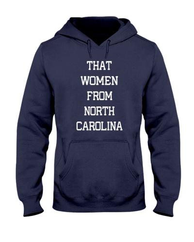 THAT WOMEN FROM NORTH CAROLINA