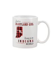 JUST A MARYLAND GIRL IN AN INDIANA WORLD Mug thumbnail