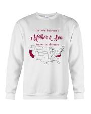 CALIFORNIA NORTH CAROLINA THE LOVE MOTHER AND SON Crewneck Sweatshirt thumbnail
