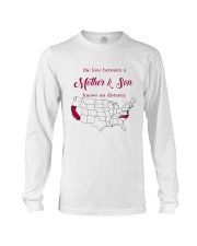 CALIFORNIA NORTH CAROLINA THE LOVE MOTHER AND SON Long Sleeve Tee thumbnail