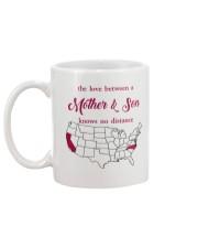CALIFORNIA NORTH CAROLINA THE LOVE MOTHER AND SON Mug back