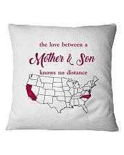 CALIFORNIA NORTH CAROLINA THE LOVE MOTHER AND SON Square Pillowcase thumbnail