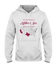 TEXAS CALIFORNIA THE LOVE MOTHER AND SON Hooded Sweatshirt thumbnail