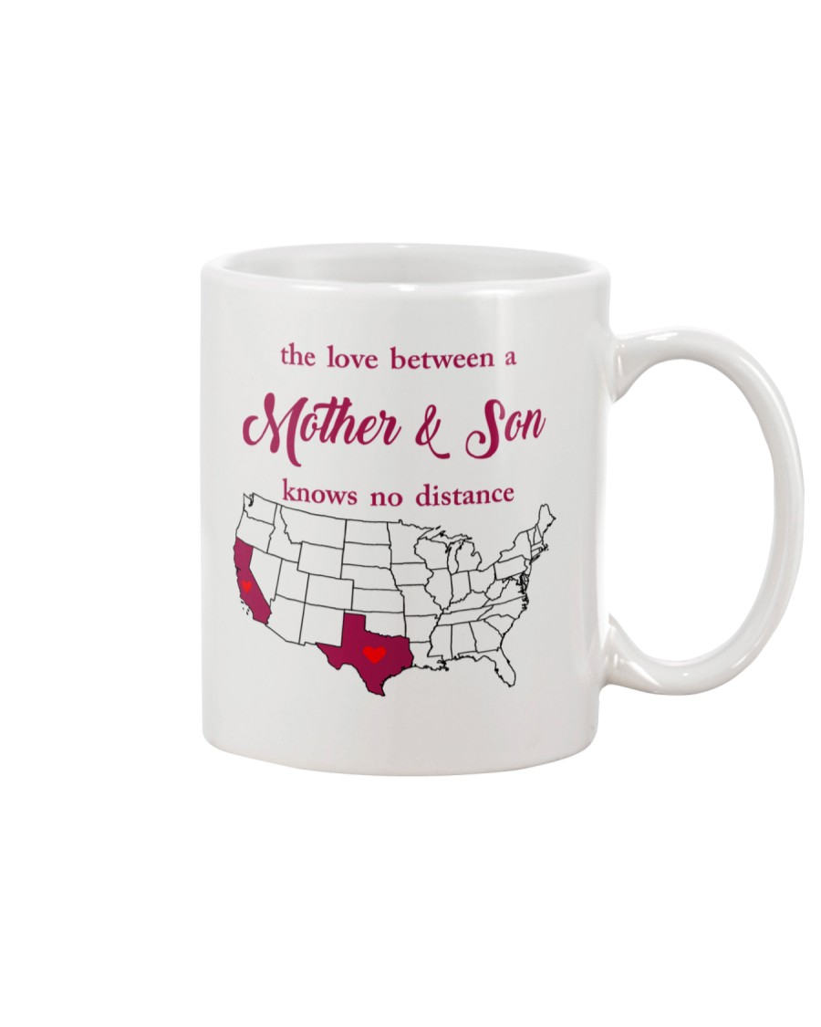 TEXAS CALIFORNIA THE LOVE MOTHER AND SON Mug