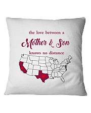 TEXAS CALIFORNIA THE LOVE MOTHER AND SON Square Pillowcase thumbnail