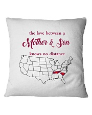 SOUTH CAROLINA TENNESSEE THE LOVE MOTHER AND SON Square Pillowcase thumbnail
