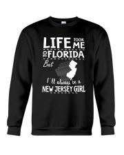 LIFE TOOK ME TO FLORIDA - NEW JERSEY Crewneck Sweatshirt thumbnail