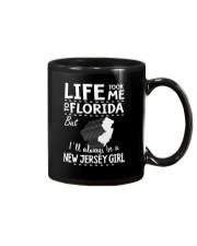 LIFE TOOK ME TO FLORIDA - NEW JERSEY Mug thumbnail