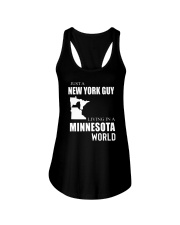 JUST A NEW YORK GUY IN A MINNESOTA WORLD Ladies Flowy Tank thumbnail