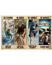 Triathlon - Man 24x16 Poster front