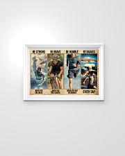 Triathlon - Man 24x16 Poster poster-landscape-24x16-lifestyle-02
