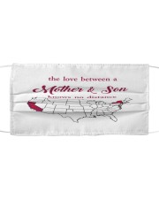 CALIFORNIA NEW YORK THE LOVE MOTHER AND SON Cloth face mask thumbnail