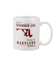 JUST A WISCONSIN GIRL IN A MARYLAND WORLD Mug thumbnail