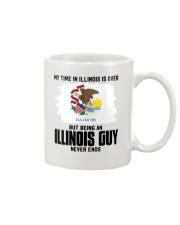 MY TIME IN ILLINOIS BUT BEING AN ILLINOIS GUY Mug tile