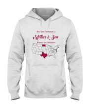 TEXAS NORTH DAKOTA THE LOVE MOTHER AND SON Hooded Sweatshirt thumbnail
