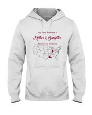 LOUISIANA INDIANA THE LOVE MOTHER AND DAUGHTER Hooded Sweatshirt thumbnail