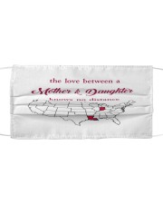 LOUISIANA INDIANA THE LOVE MOTHER AND DAUGHTER Cloth face mask thumbnail