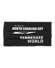 JUST A NORTH CAROLINA GUY IN A TENNESSEE WORLD Cloth face mask thumbnail