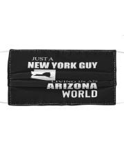 JUST A NEW YORK GUY IN AN ARIZONA WORLD Cloth face mask thumbnail