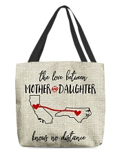 CALIFORNIA NORTH CAROLINA-MOTHER AND DAUGHTER All-over Tote thumbnail
