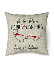 "CALIFORNIA NORTH CAROLINA-MOTHER AND DAUGHTER Indoor Pillow - 16"" x 16"" back"