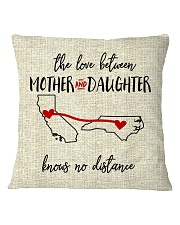 CALIFORNIA NORTH CAROLINA-MOTHER AND DAUGHTER Square Pillowcase tile