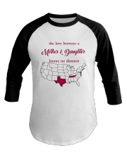 TEXAS TENNESSEE THE LOVE MOTHER AND DAUGHTER Baseball Tee thumbnail