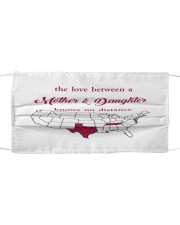 TEXAS TENNESSEE THE LOVE MOTHER AND DAUGHTER Cloth face mask thumbnail