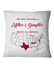 TEXAS TENNESSEE THE LOVE MOTHER AND DAUGHTER Square Pillowcase thumbnail