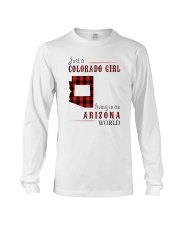 JUST A COLORADO GIRL IN AN ARIZONA WORLD Long Sleeve Tee thumbnail