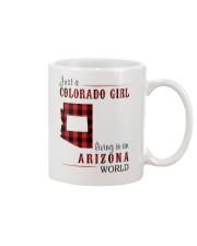JUST A COLORADO GIRL IN AN ARIZONA WORLD Mug thumbnail