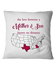 TEXAS GEORGIA THE LOVE MOTHER AND SON Square Pillowcase thumbnail