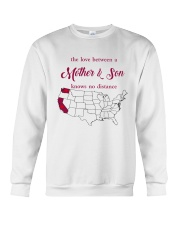 CALIFORNIA WASHINGTON THE LOVE MOTHER AND SON Crewneck Sweatshirt thumbnail