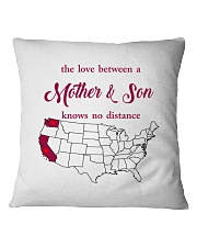 CALIFORNIA WASHINGTON THE LOVE MOTHER AND SON Square Pillowcase thumbnail
