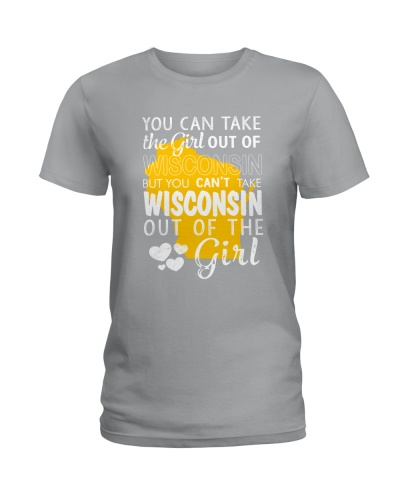 YOU CAN'T TAKE WISCONSIN OUT OF THE GIRL