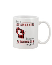 JUST A LOUISIANA GIRL IN A WISCONSIN WORLD Mug thumbnail