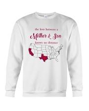 CALIFORNIA TEXAS THE LOVE MOTHER AND SON Crewneck Sweatshirt thumbnail