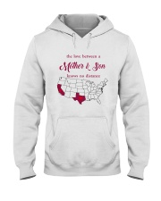 CALIFORNIA TEXAS THE LOVE MOTHER AND SON Hooded Sweatshirt thumbnail