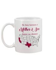 CALIFORNIA TEXAS THE LOVE MOTHER AND SON Mug back