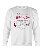 CALIFORNIA OHIO THE LOVE MOTHER AND SON Crewneck Sweatshirt thumbnail